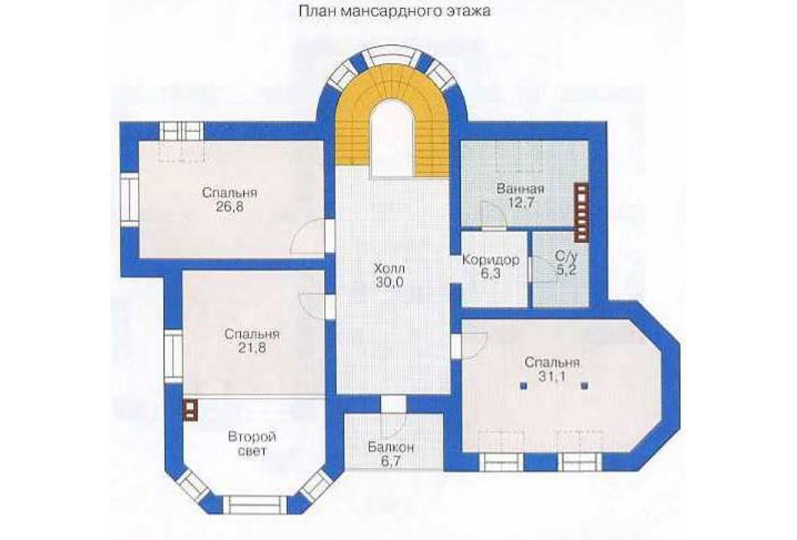 План N2 проекта дома из СИП-панелей АСД-1296