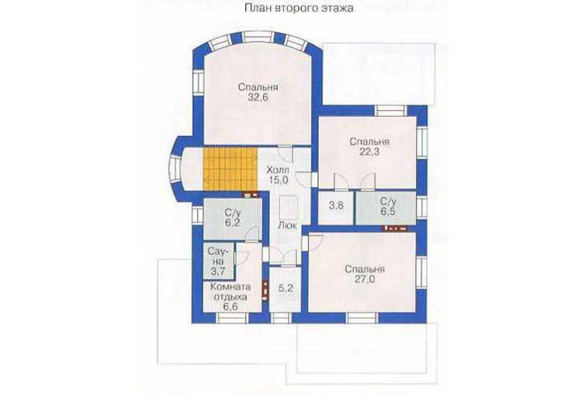 План N1 проекта дома из СИП-панелей АСД-1299