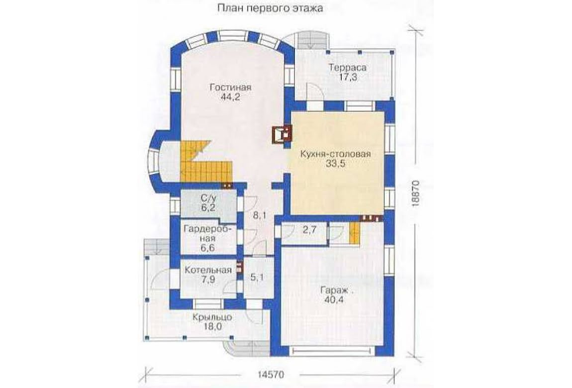 План N2 проекта дома из СИП-панелей АСД-1299