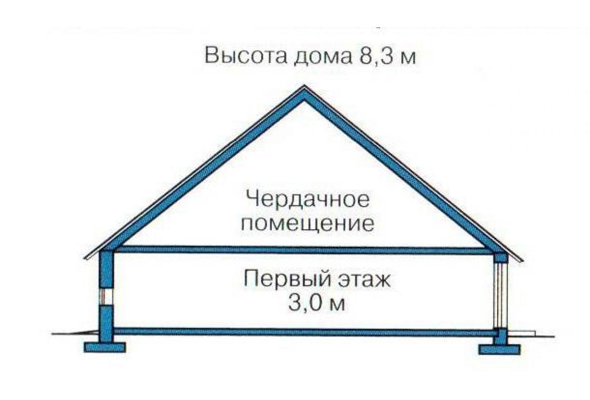 План N2 проекта кирпичного дома АСД-1003