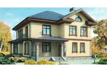 Проект кирпичного дома АСД-1030