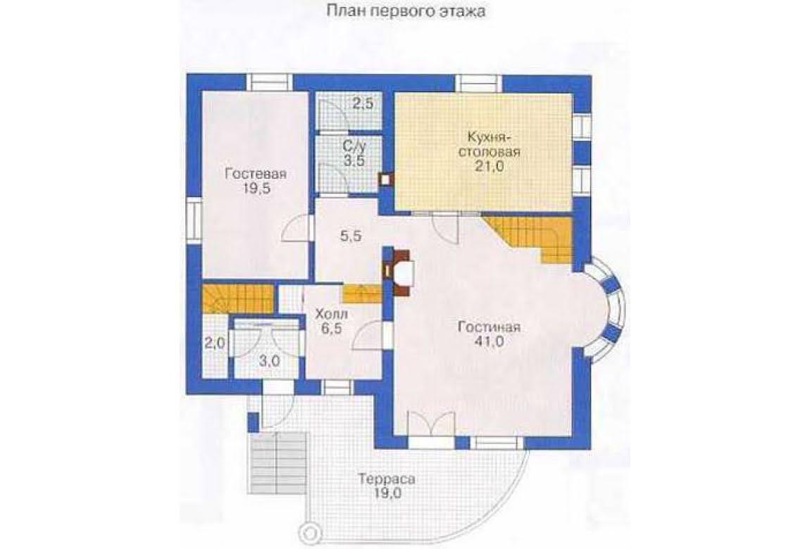 План N2 проекта дома из СИП-панелей АСД-1303