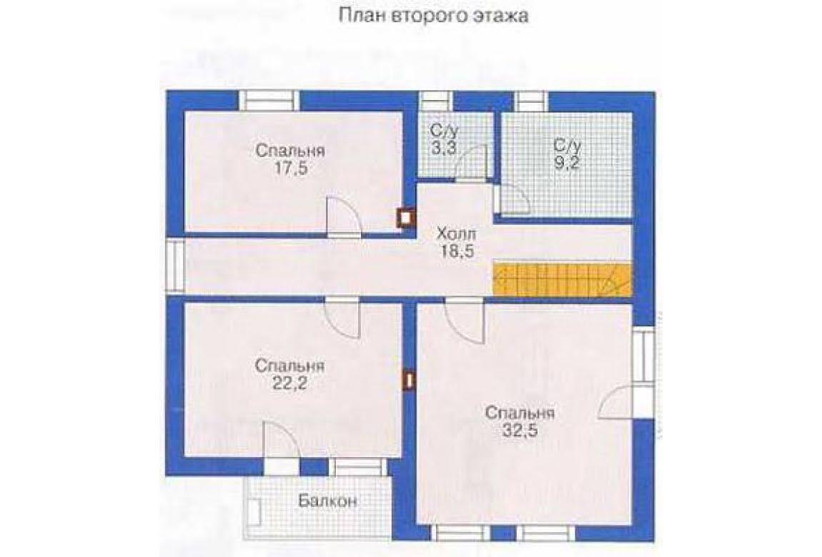 План N3 проекта дома из СИП-панелей АСД-1303