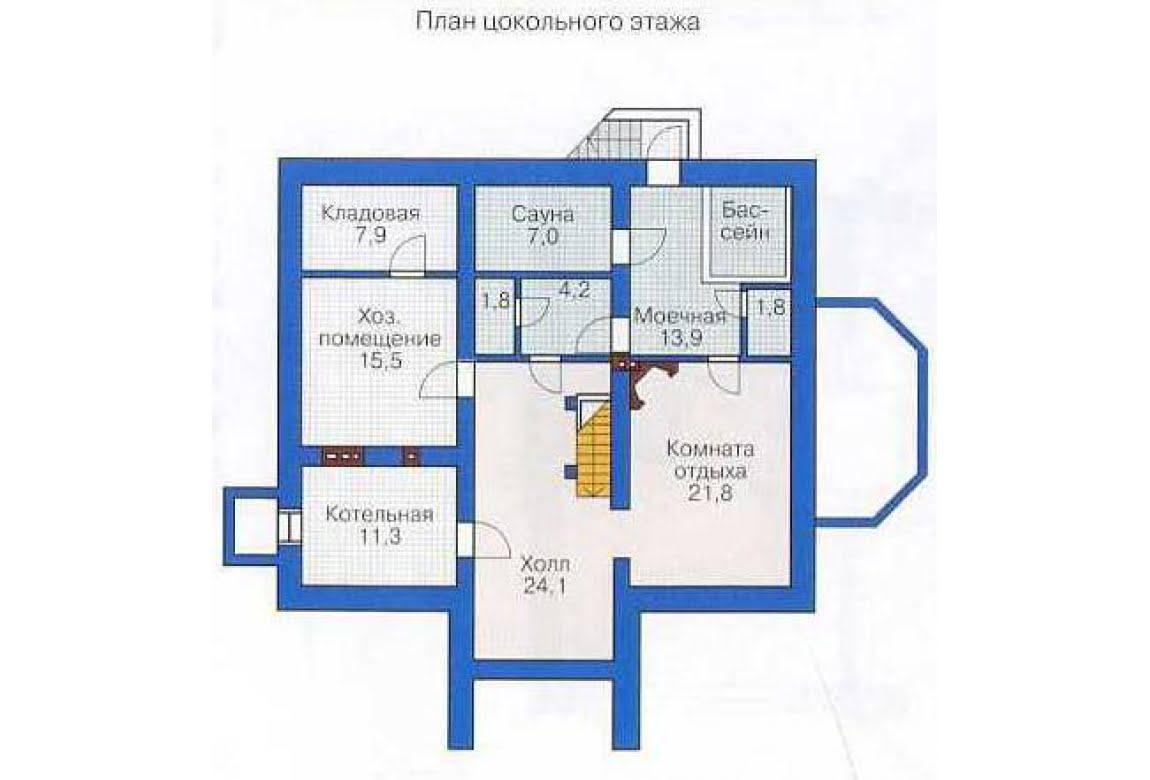 План N3 проекта дома из СИП-панелей АСД-1304