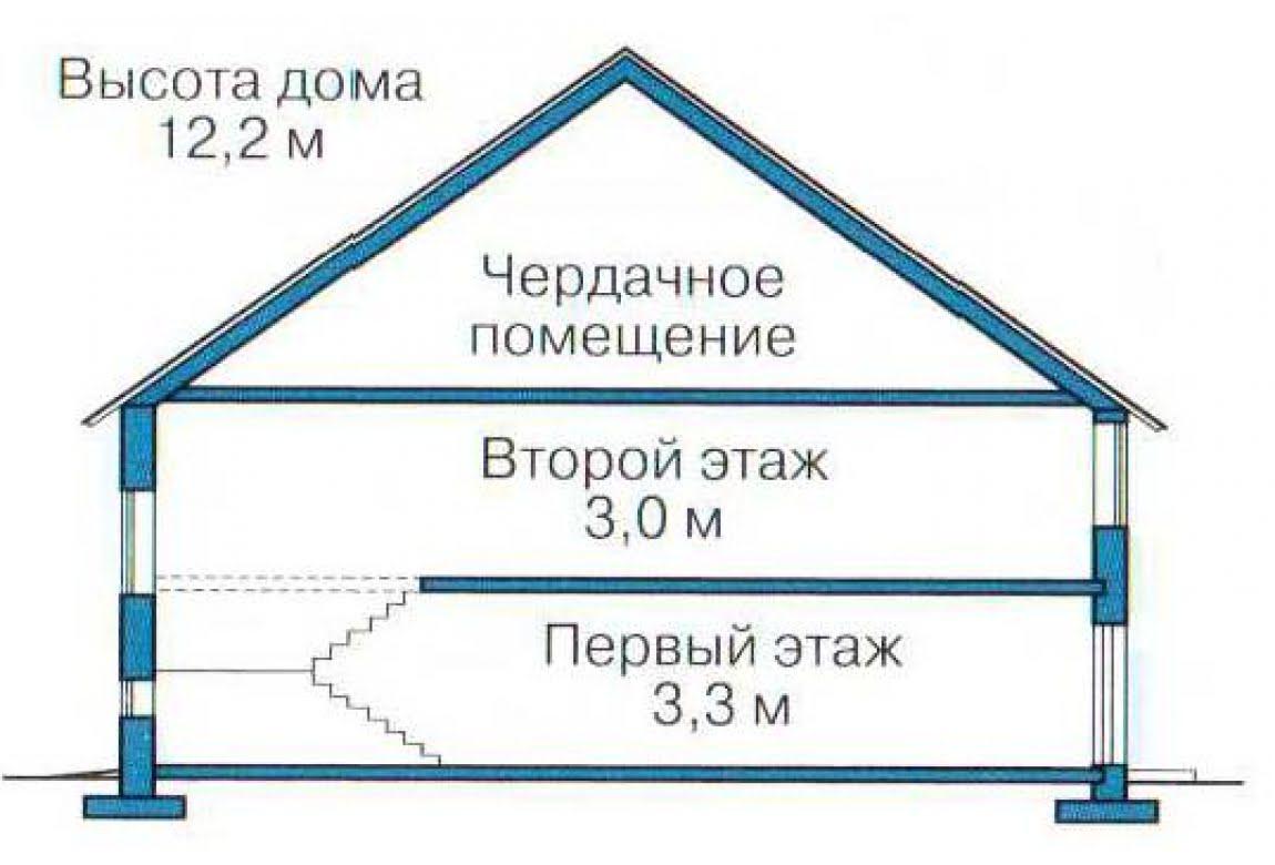 План N3 проекта дома из СИП-панелей АСД-1305