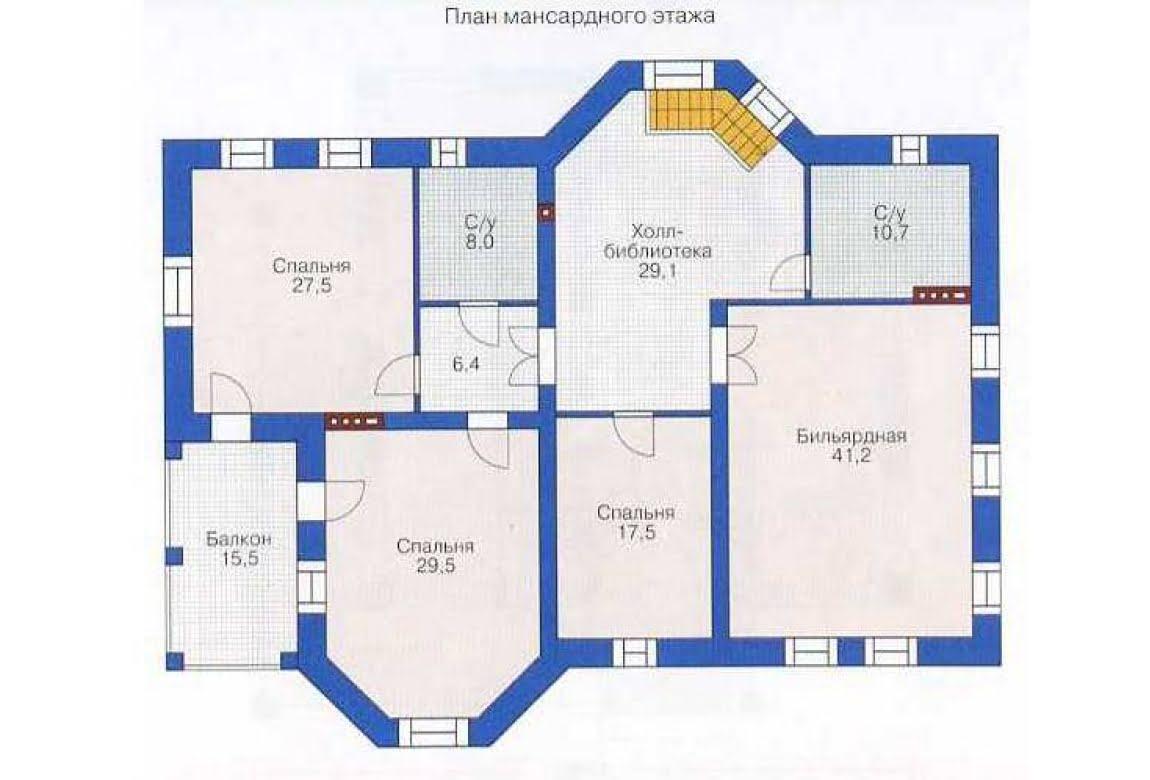 План N2 проекта дома из СИП-панелей АСД-1306