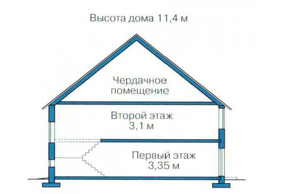 План N3 проекта дома из СИП-панелей АСД-1308