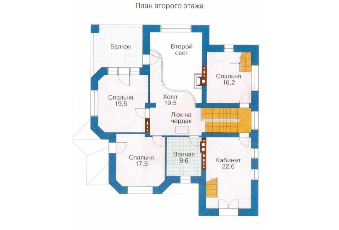 План N3 проекта дома из СИП-панелей АСД-1309