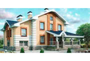 Проект кирпичного дома АСД-1031