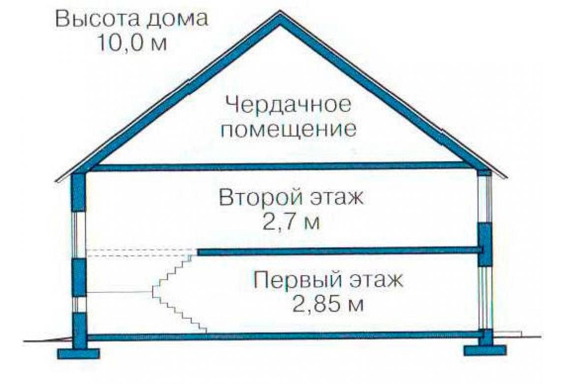 План N3 проекта кирпичного дома АСД-1031