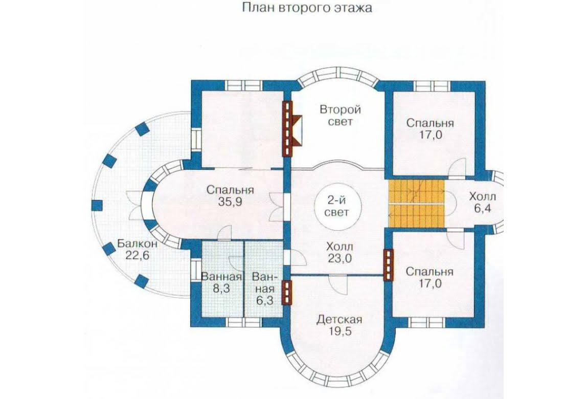 План N1 проекта дома из СИП-панелей АСД-1310