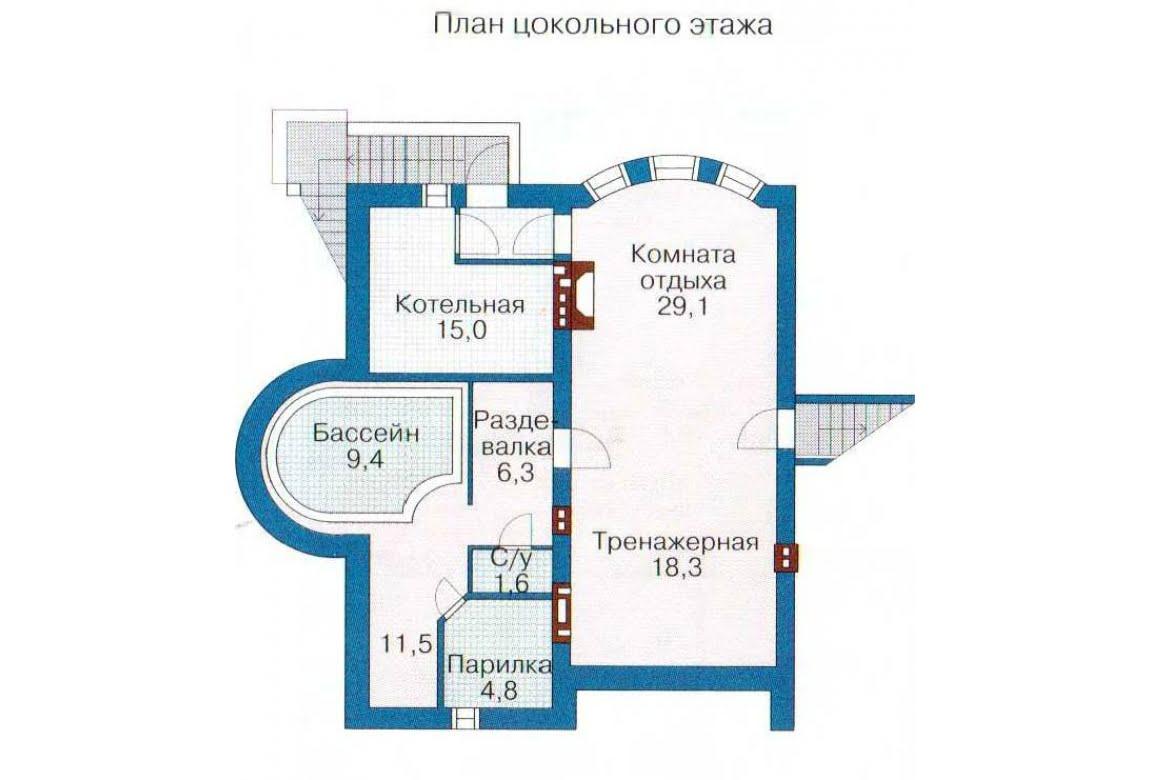 План N3 проекта дома из СИП-панелей АСД-1310