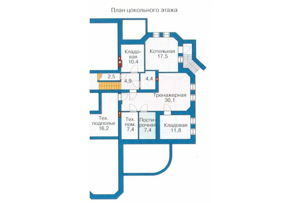 План N1 проекта дома из СИП-панелей АСД-1312
