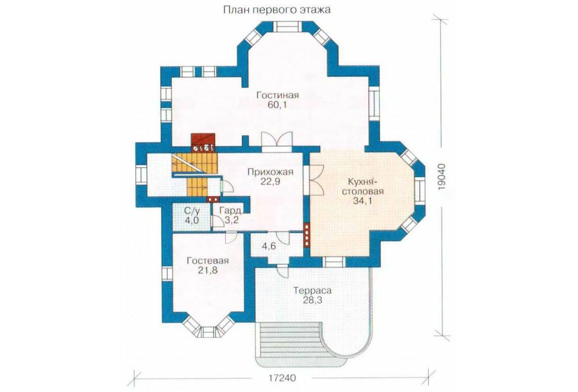 План N2 проекта ВИП дома АСД-1315