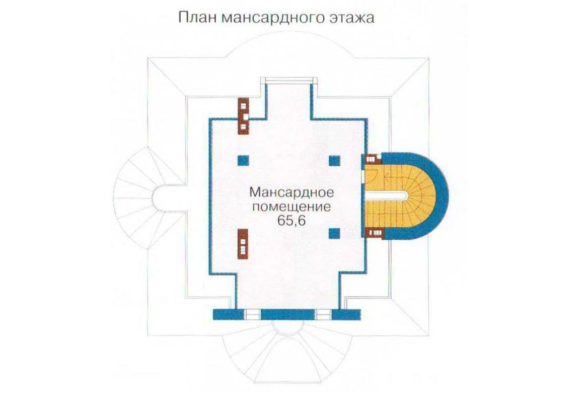 План N1 проекта ВИП дома АСД-1316
