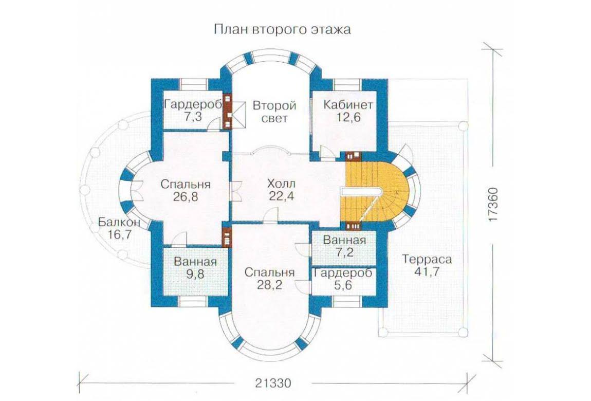 План N2 проекта ВИП дома АСД-1316