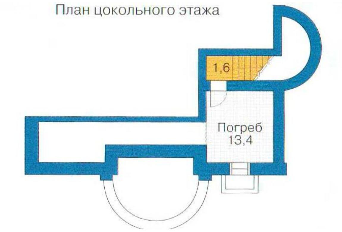 План N3 проекта ВИП дома АСД-1316