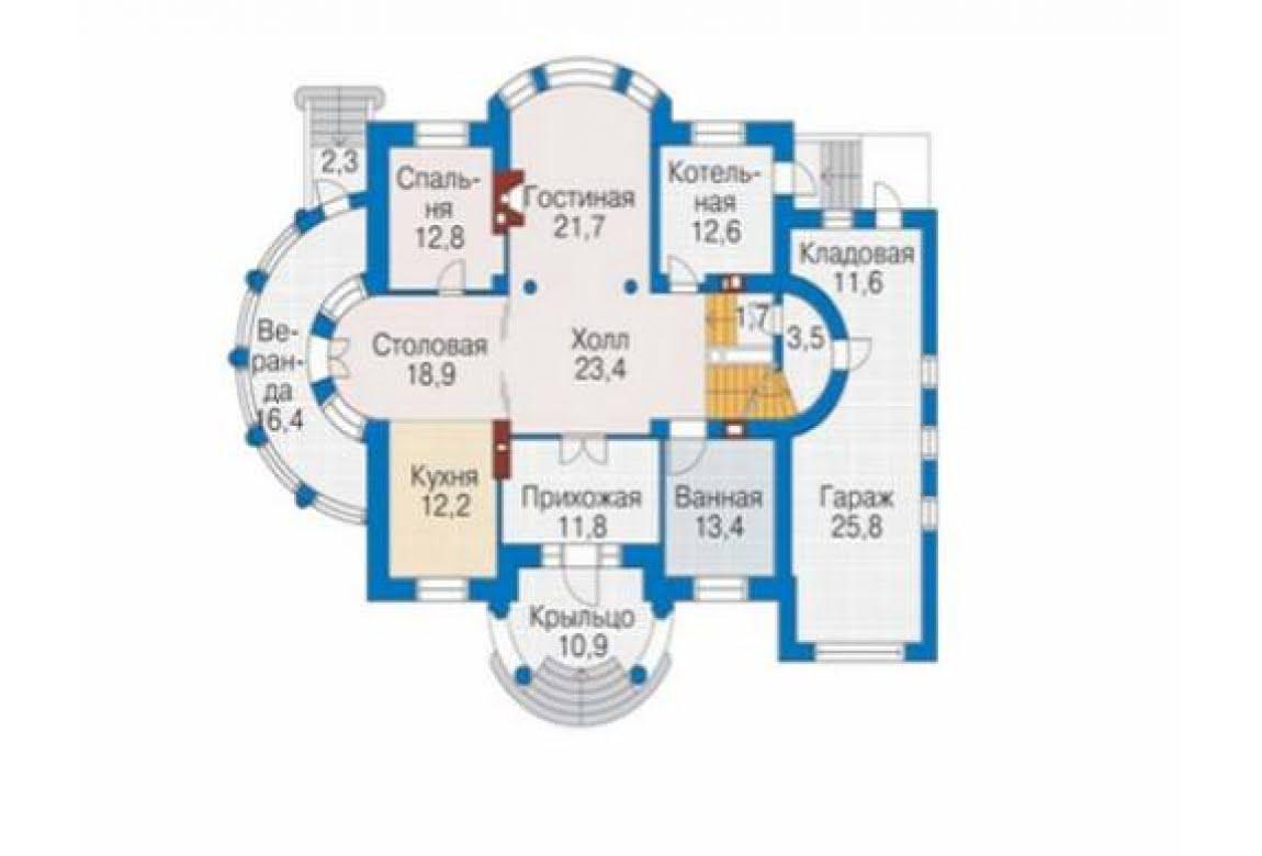 План N4 проекта элитного дома АСД-1316