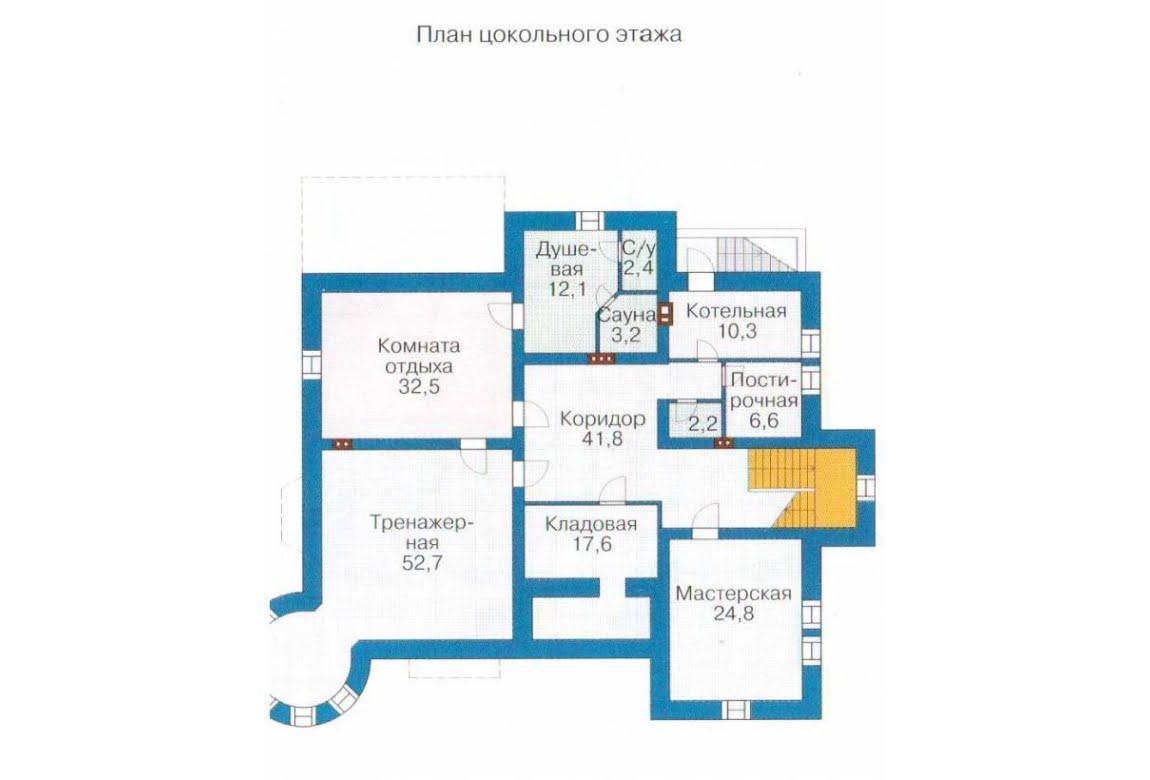 План N1 проекта ВИП дома АСД-1317