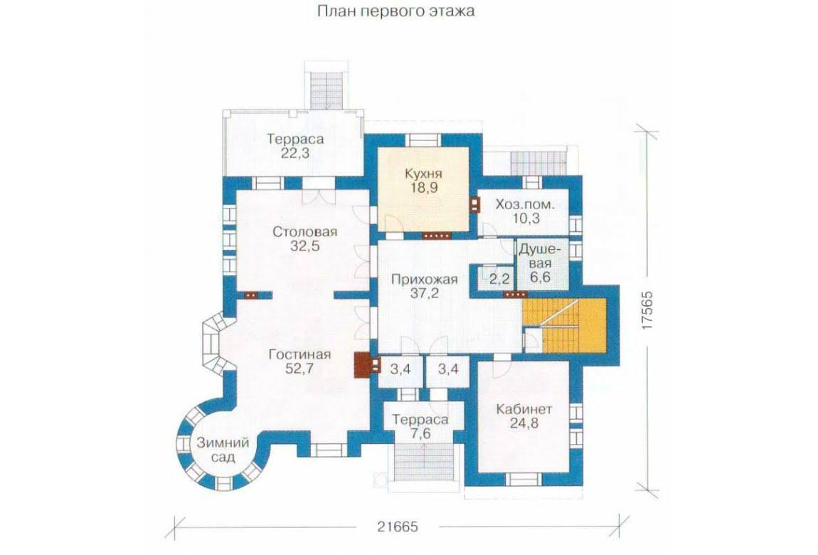План N2 проекта ВИП дома АСД-1317