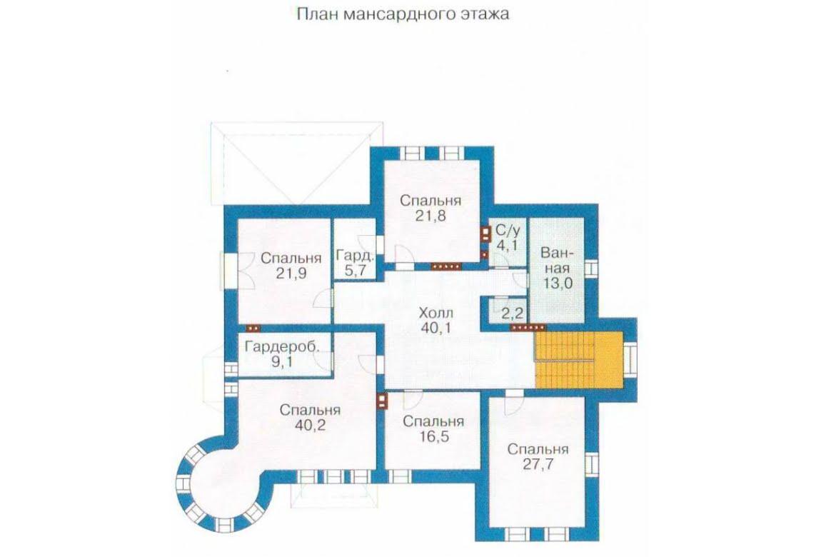 План N3 проекта ВИП дома АСД-1317