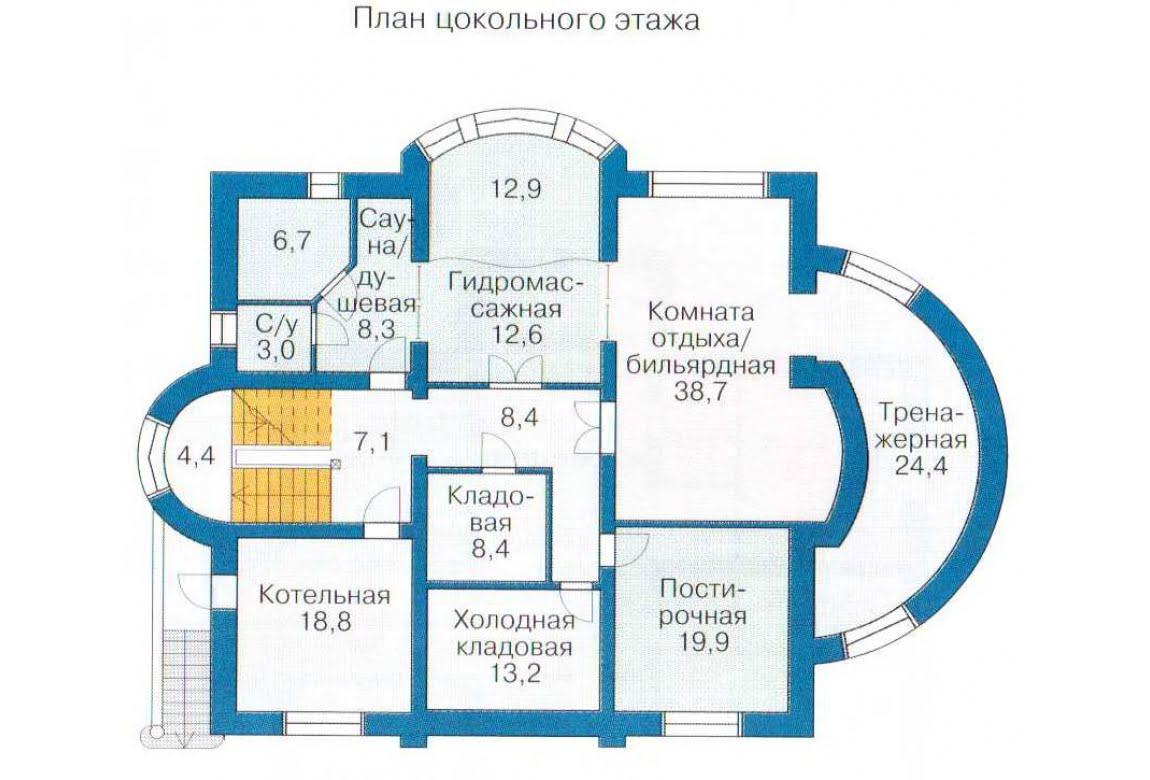 План N3 проекта ВИП дома АСД-1319