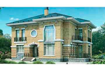 Проект кирпичного дома АСД-1032
