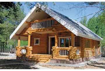Дом из бревна АСД-1322