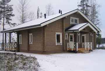 Дом из бревна АСД-1326