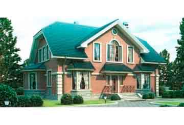 Проект кирпичного дома АСД-1033