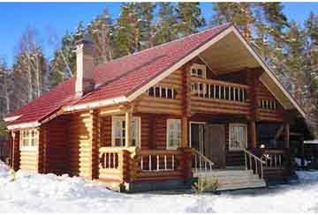 Дом из бревна АСД-1331