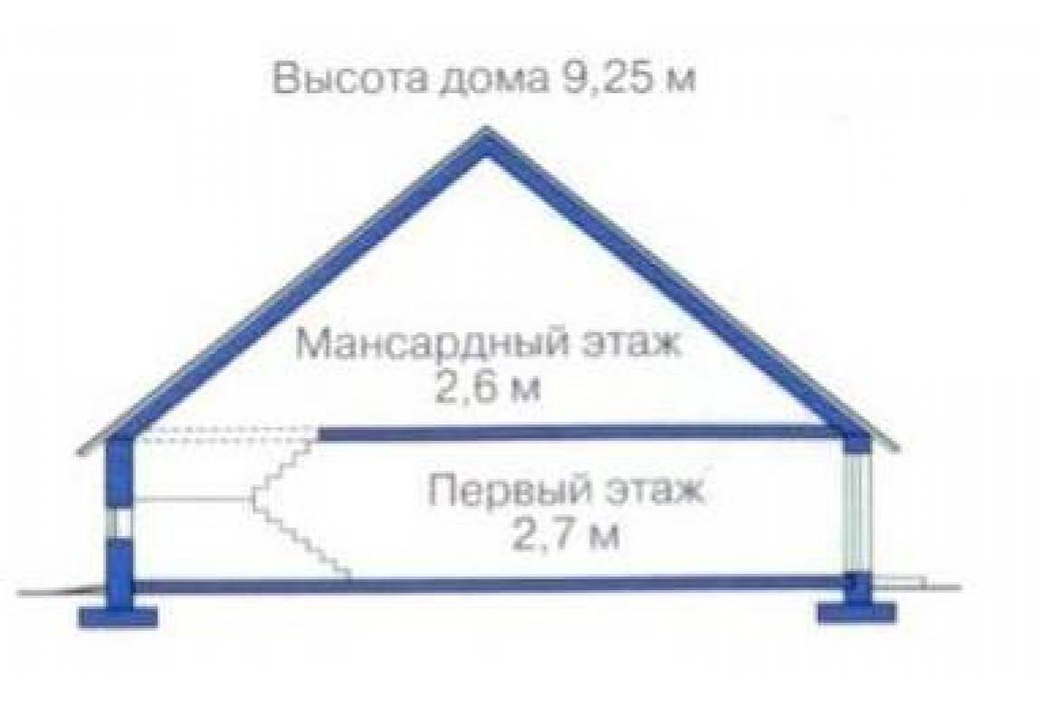 План N3 проекта дома из клееного бруса АСД-1334