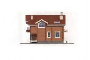 Проект дома из клееного бруса 11-12