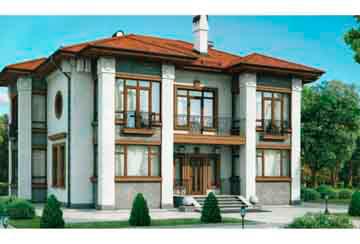 Проект кирпичного дома АСД-1034
