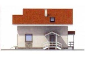 Проект дома из клееного бруса 11-56