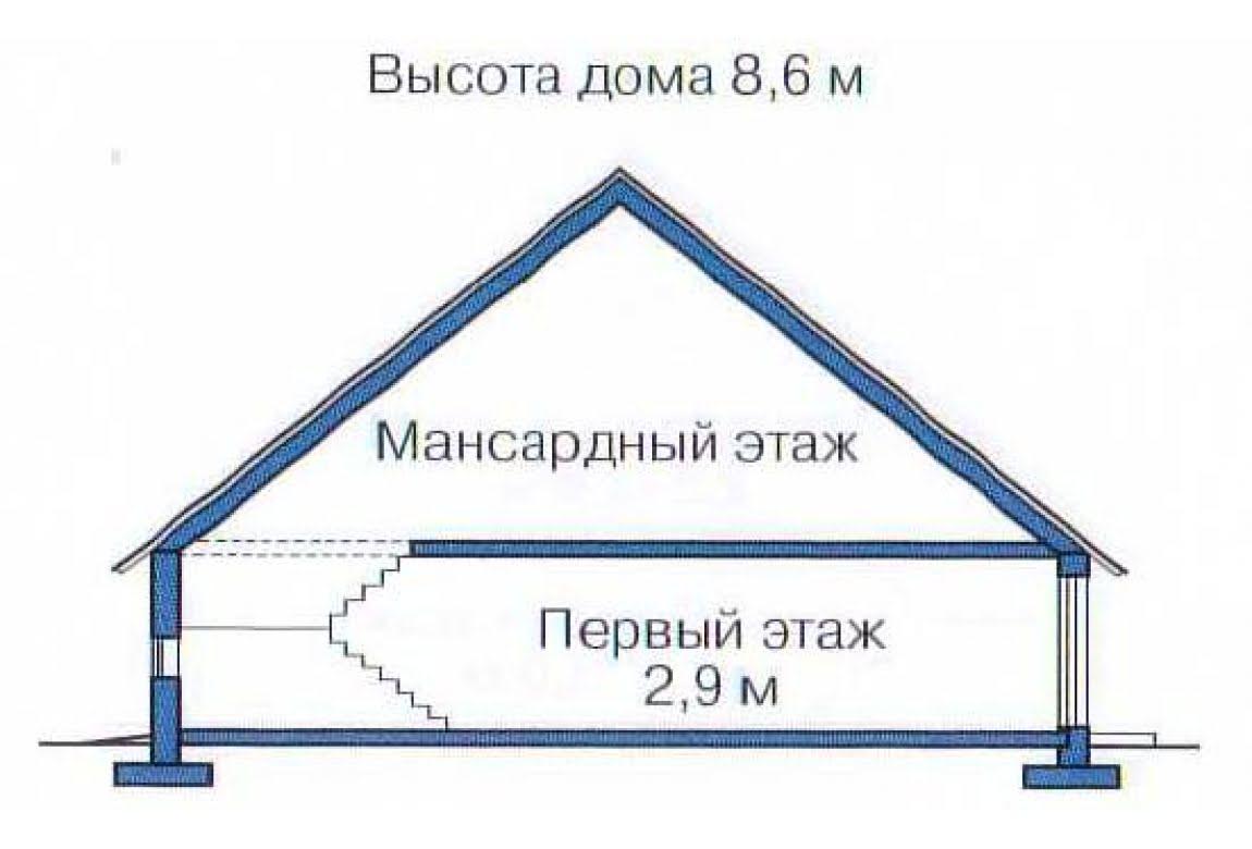 План N3 проекта дома из клееного бруса АСД-1344