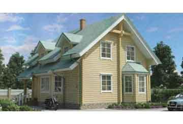 Дом из клееного бруса АСД-1345