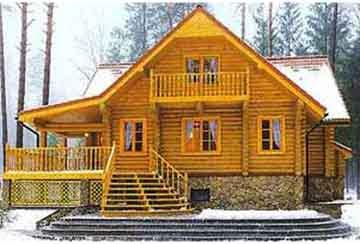 Дом из бревна АСД-1349