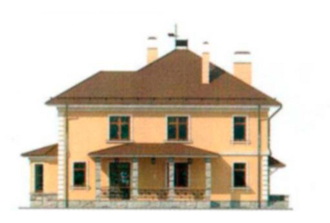 Проект дома из кирпича АСД-1035 (uploads/gss/goods/35/big_3.jpg).