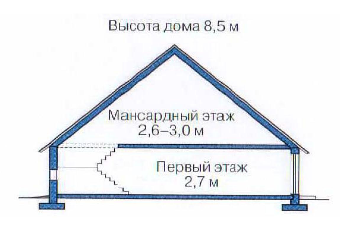 План N3 проекта дома из клееного бруса АСД-1356