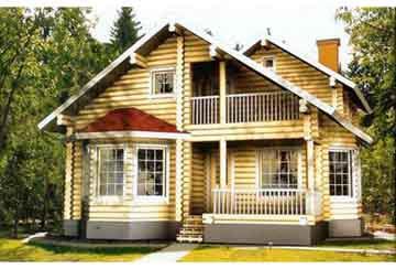 Дом из бревна АСД-1358