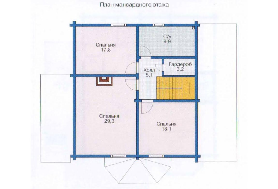 План N2 проекта недорогого дома АСД-1359