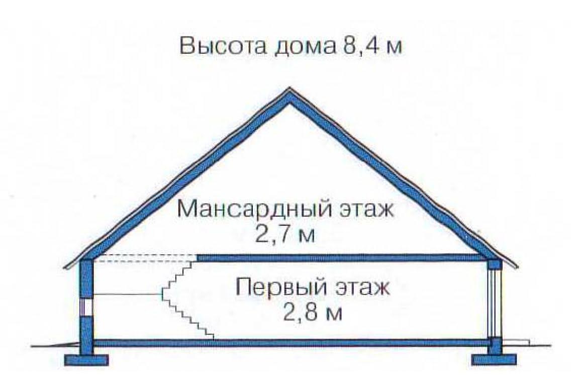 План N3 проекта недорогого дома АСД-1359