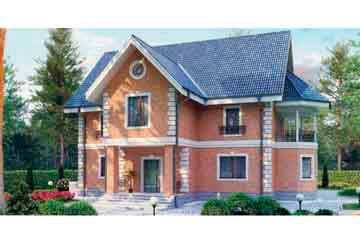 Проект кирпичного дома АСД-1036