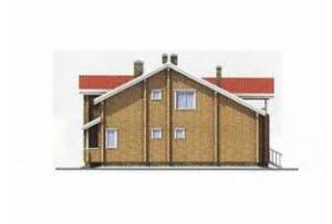 Проект дома из клееного бруса 11-13