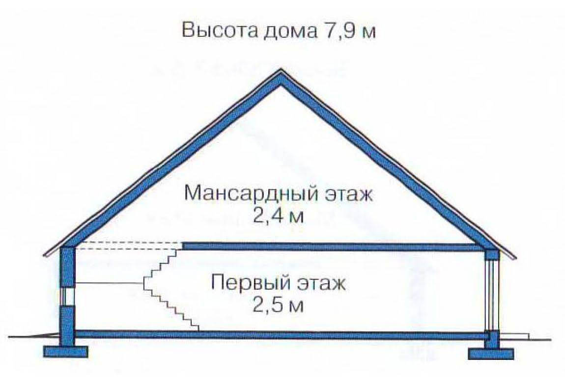 План N3 проекта дома из бревна АСД-1368