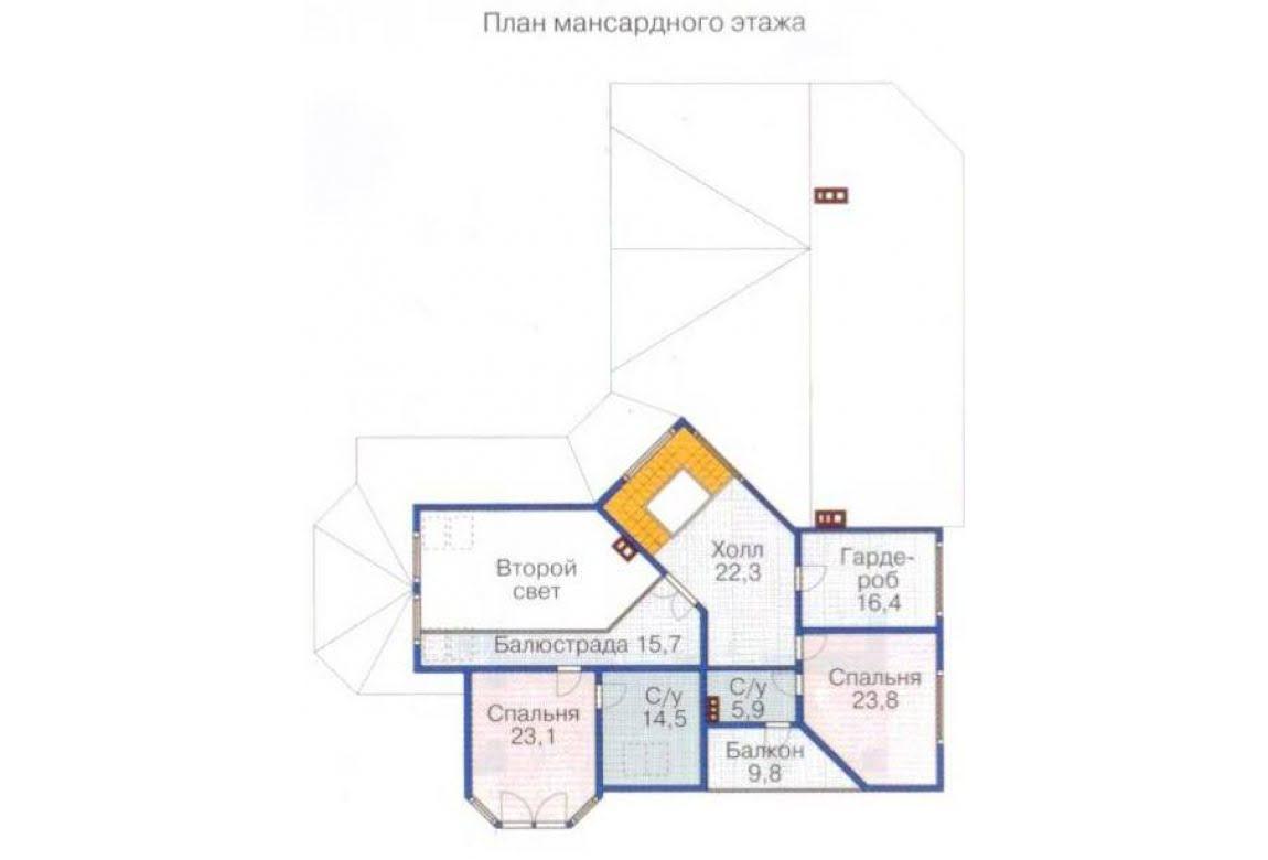 План N3 проекта ВИП дома АСД-1375