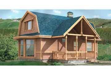 Каркасный дом АСД-1376