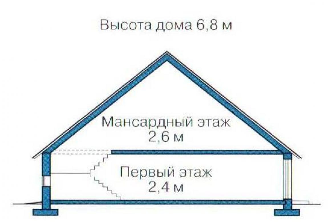 План N3 проекта каркасного дома АСД-1376