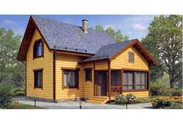 Каркасный дом АСД-1377